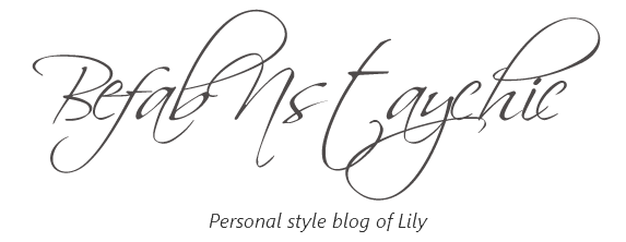 befabnstaychic - The Personal Style Blog of Lily